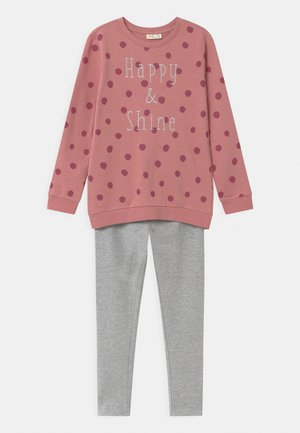 SET - Sweatshirt - dusty rose