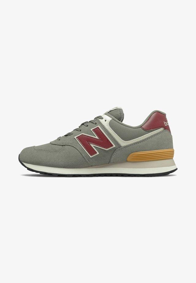 574 - Sneakers - marblehead/lightburgundy