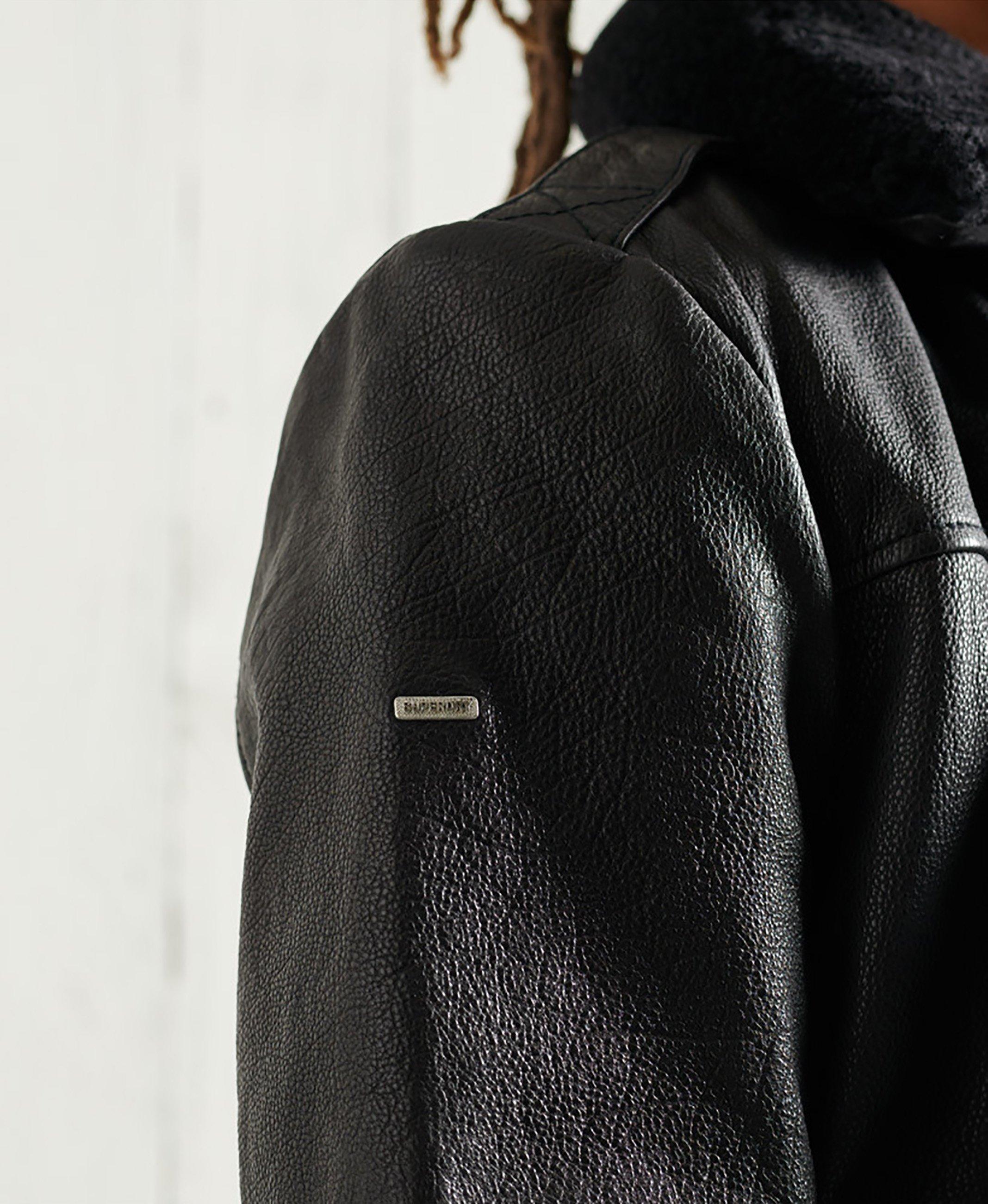 Men AVIATOR FLIGHT - Leather jacket
