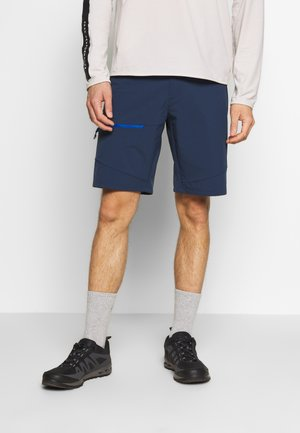LIZARD MEN - Sports shorts - tarn blue