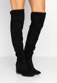 Calvin Klein - MONIFAH - Over-the-knee boots - black - 0