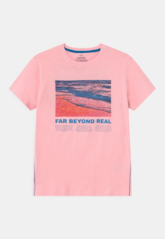 JUGOSLAVIA - T-shirt imprimé - pink
