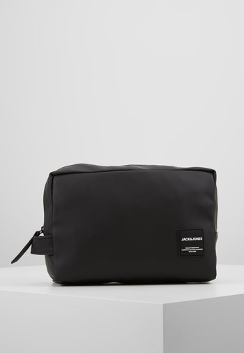 JACPETE TOILETRY BAG - Wash bag - black