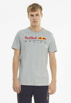 LOGO TEE - Print T-shirt - light gray heather