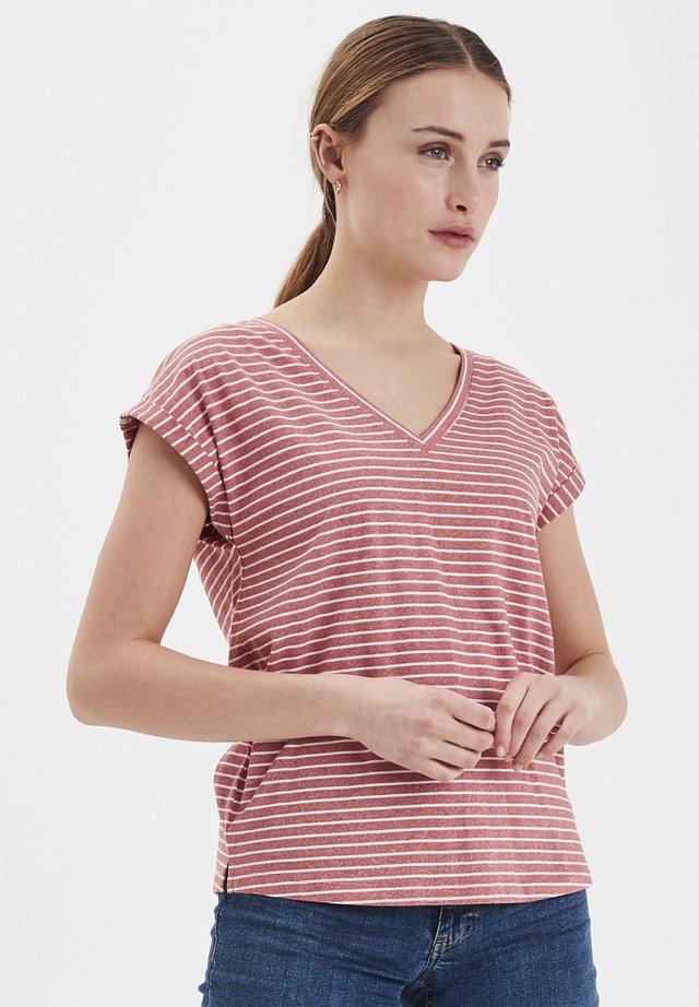 IHMOTO SS4 - Print T-shirt - faded rose