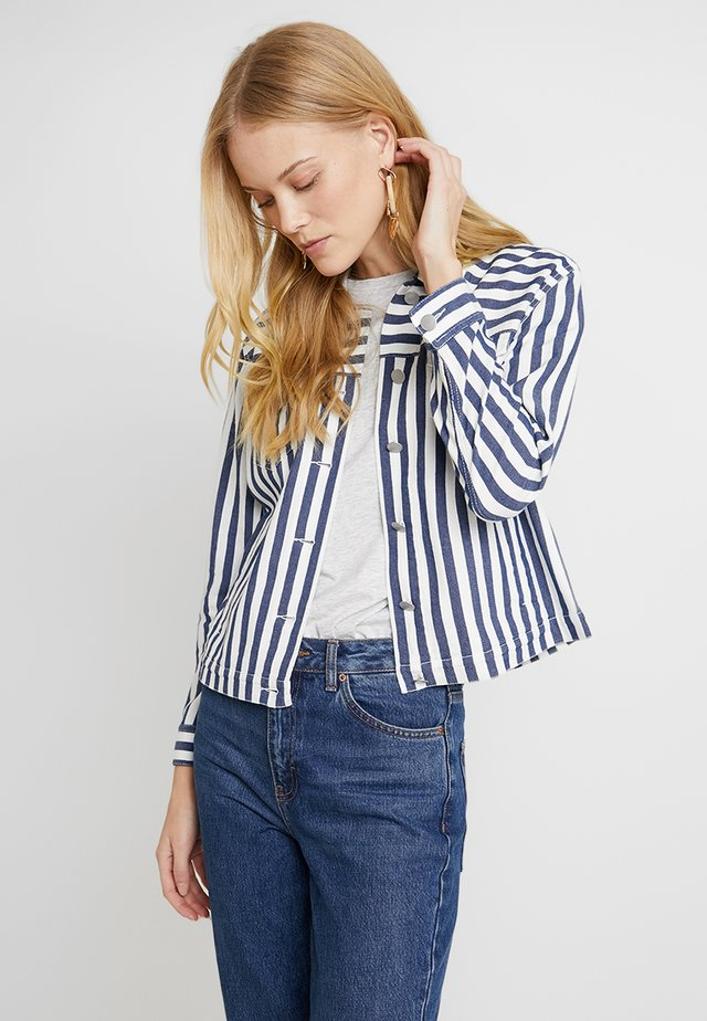 BOARDWALK STRIPE JACKET - Summer jacket - classic navy