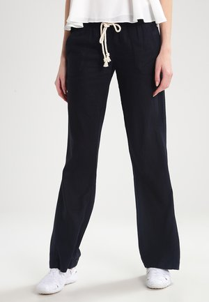 OCEANSIDE - Trousers - true black