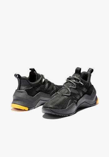 Madbury Oxford - Sportiga snörskor - black mesh w black