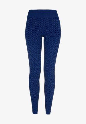 Legging - blue/black