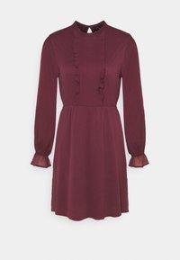 Vero Moda - VMMOLLIE FRILL SHORT DRESS - Day dress - fig - 3