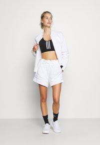 adidas Performance - Urheiluliivit: keskitason tuki - black/white - 1