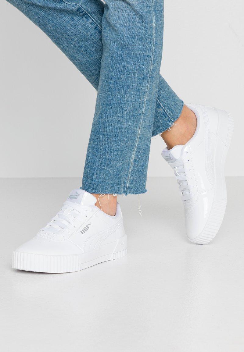 Puma - CARINA  - Baskets basses - white