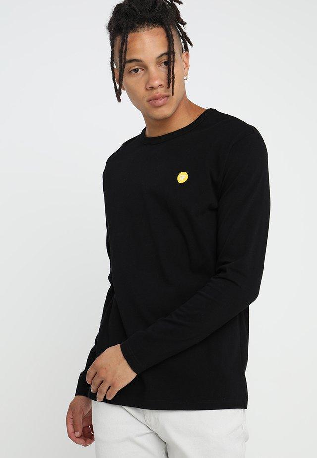 MEL - Long sleeved top - black