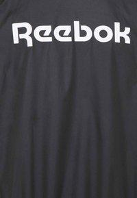 Reebok - LINEAR LOGO JACKET - Training jacket - black - 5