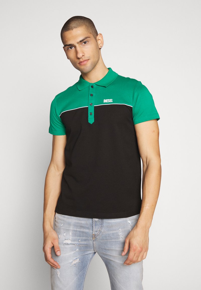 Diesel - RALFY - Poloshirt - green/black