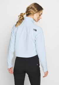 The North Face - GLACIER CROPPED ZIP - Sweat polaire - blue - 2