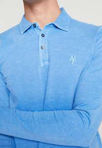 Marc O'Polo - LONG SLEEVE - Polo shirt - pacific coast - 5