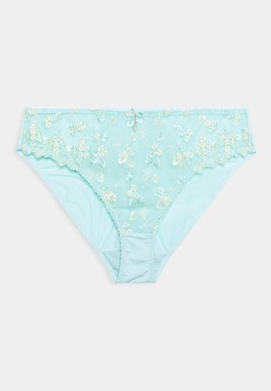 LADIES BRIEF - Briefs - mint/yellow