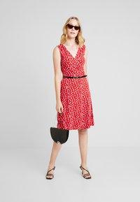Anna Field - Day dress - white/red - 1