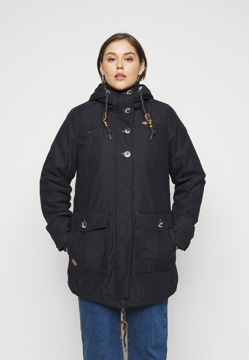 Ragwear Plus - JANE PLUS - Parka - navy