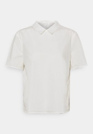 BLOUSE PLEATS AT BACK - Print T-shirt - scandinavian white