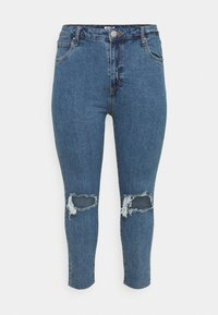 Cotton On Curve - CURVE TAYLOR MOM - Jeans Skinny Fit - blue - 0