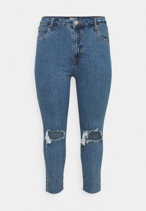 CURVE TAYLOR MOM - Jeans Skinny Fit - blue