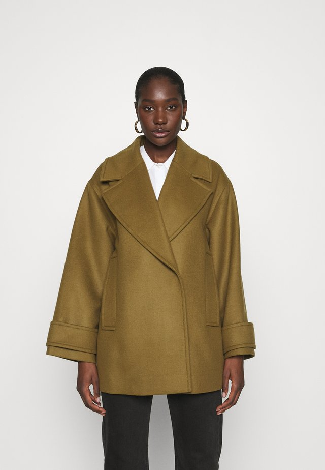 EGG SHAPED COAT - Cappotto classico - beech
