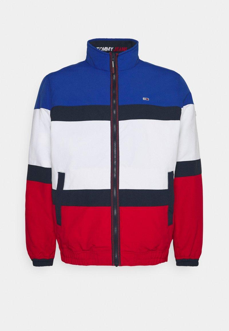 Tommy Jeans Plus - PADDED JACKET - Summer jacket - white/multi