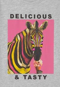 Lemon Beret - TEEN GIRLS - T-shirts print - light grey melange - 2
