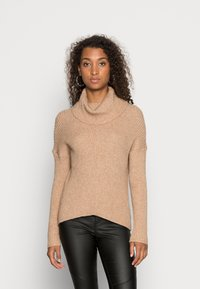 ONLY - ONLKATIA COWLNECK - Jumper - toasted coconut - 0