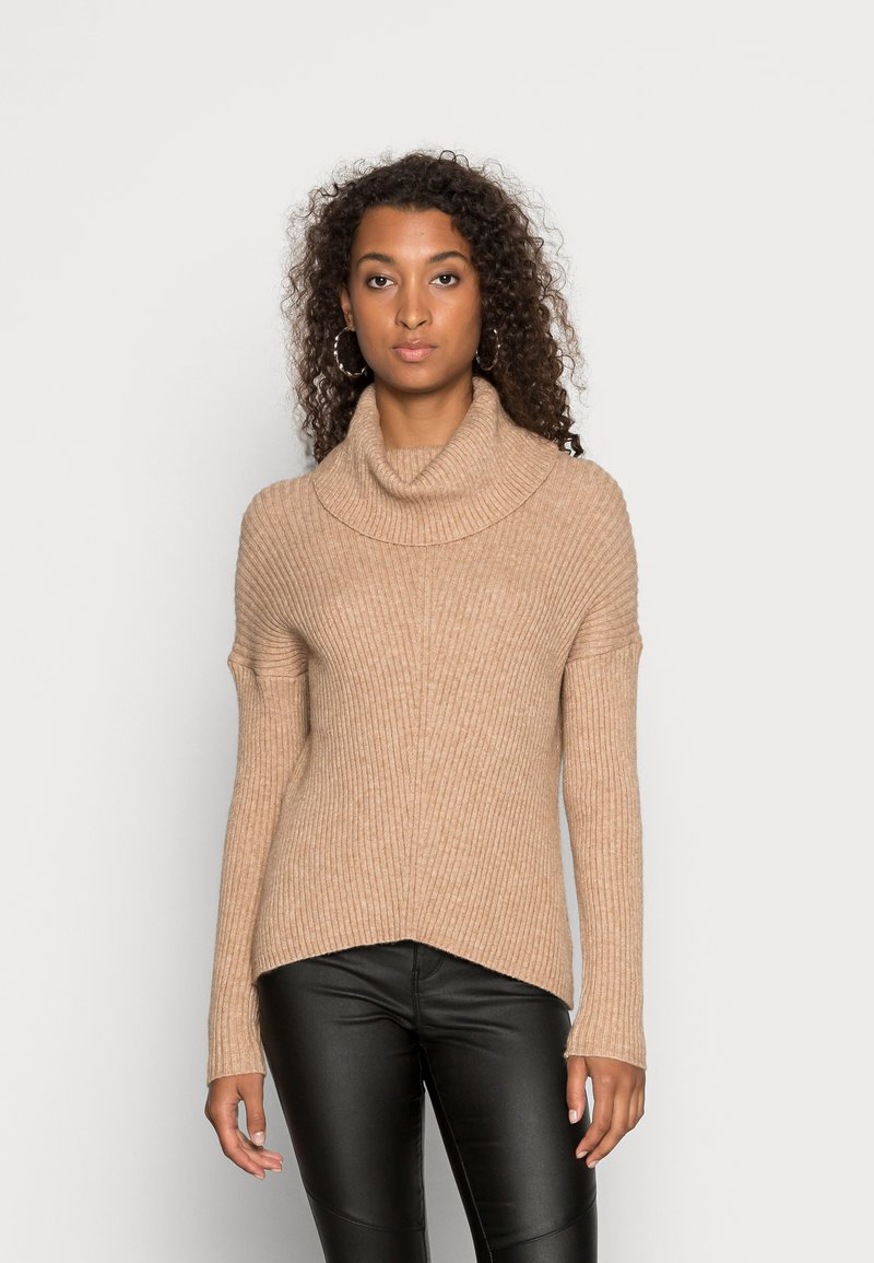 ONLY - ONLKATIA COWLNECK - Jumper - toasted coconut