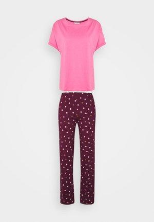 SPOT SET - Pyjamas - purple mix