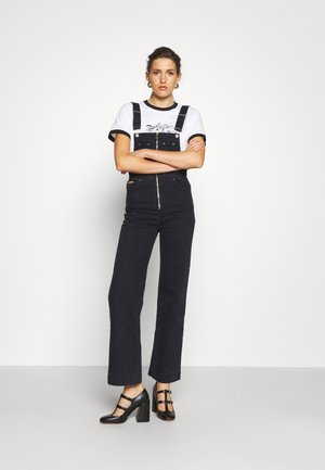 LUCIEN DUNGAREES - Overall /Buksedragter - black
