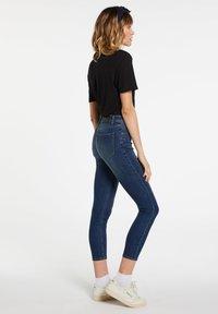 Volcom - LIBERATOR HIGH RISE - Jeans Skinny Fit - blue - 1