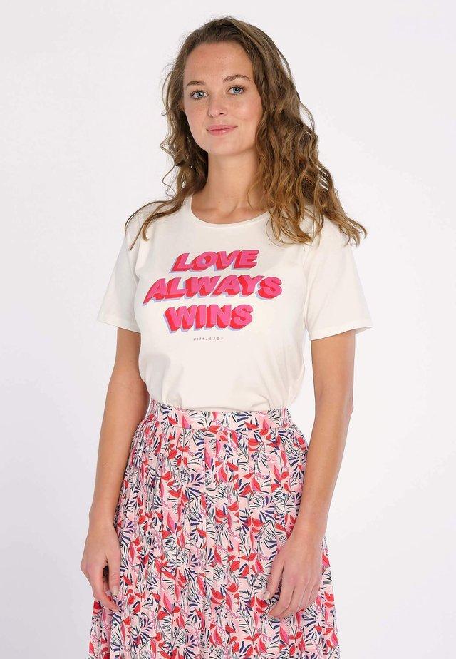 SYDNEY  - T-shirt print - blanc
