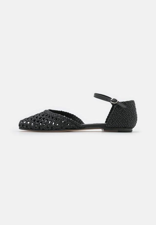 MELLY 9 - Ballerine con cinturino - black