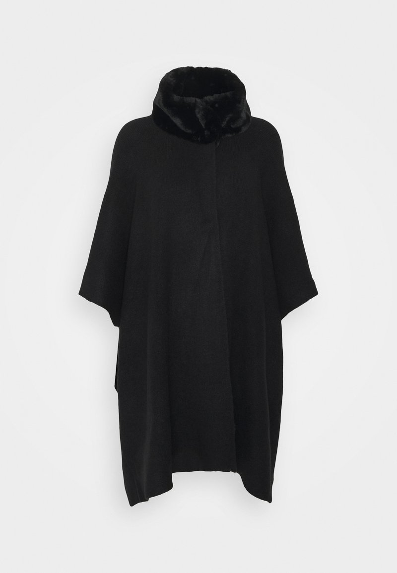 Marks & Spencer London - COLLAR WRAP - Cape - black