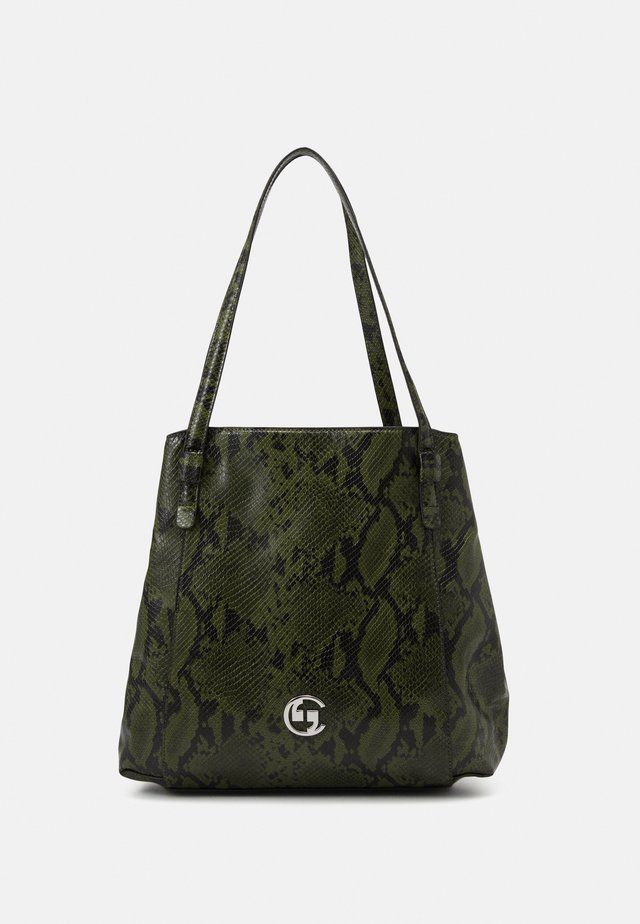 SELFIE SHOPPER - Tote bag - khaki