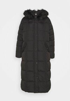 MAXI COAT - Down coat - black