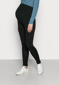 Anna Field MAMA - 7/8 LENGTH MATERNITY LEGGINGS 2 PACK - Leggings - black - 3