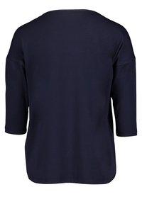 Cartoon - Long sleeved top - dunkelblau/grau - 1