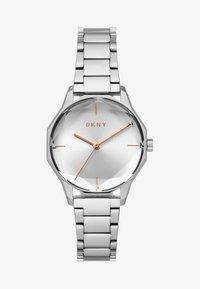 DKNY - ROUND CITYSPIRE - Rannekello - silver-coloured - 1