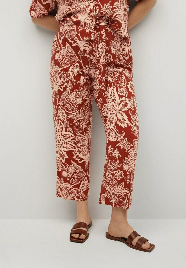 Trousers - rot