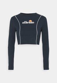 Ellesse - RUSSIA CROP  - Langærmede T-shirts - navy - 3