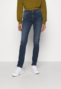 Diesel - D-ROISIN - Jeans Skinny Fit - washed black - 0
