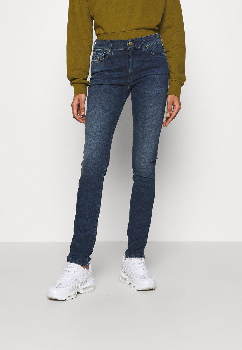 Diesel - D-ROISIN - Jeans Skinny Fit - washed black