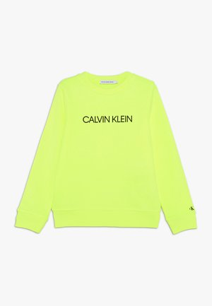 INSTITUTIONAL LOGO  - Sweatshirt - yellow