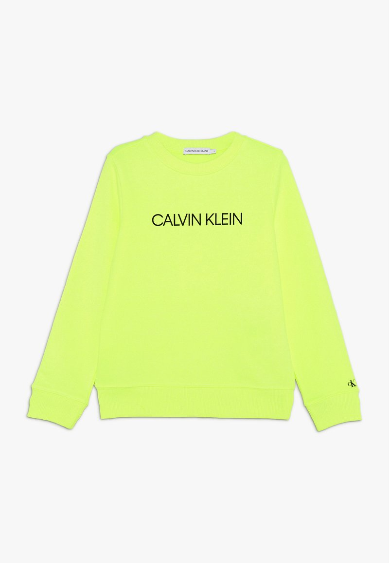 Calvin Klein Jeans - INSTITUTIONAL LOGO  - Sweater - yellow