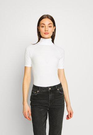 MELAM SLIM - Print T-shirt - milk